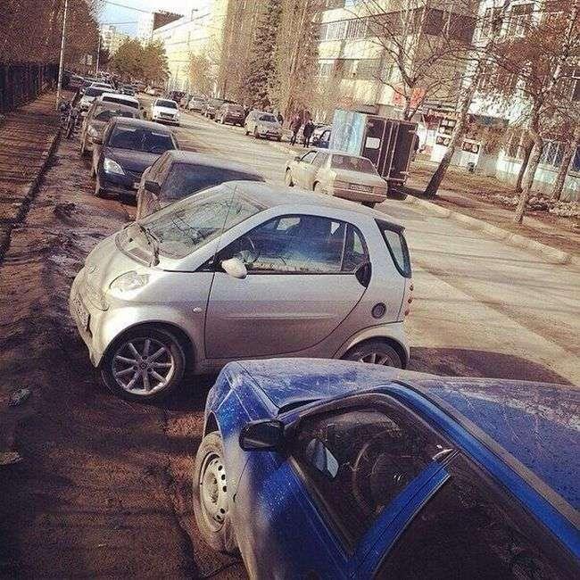 Автоюмор для автомобілістів і пішоходів (37 фото)
