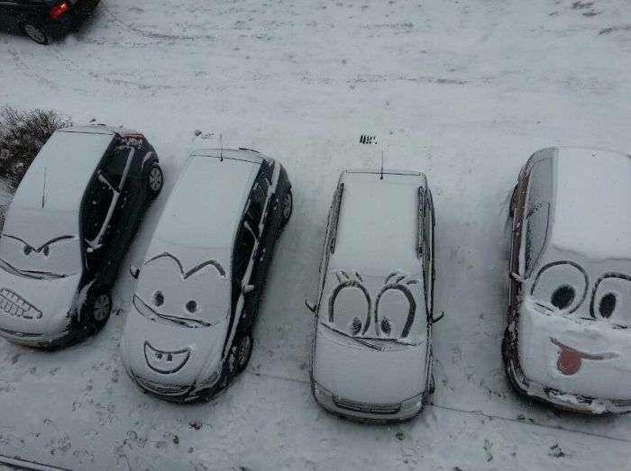 Автомобільний гумор (41 фото)