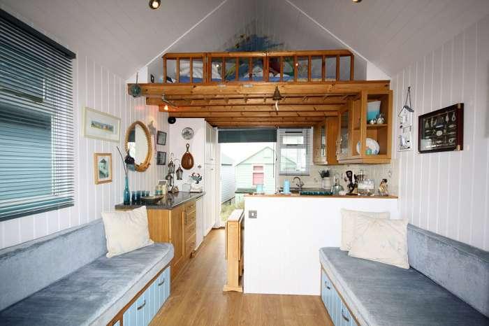 Пляжний будиночок у Великобританії за 250 000 фунтів стерлінгів (12 фото)