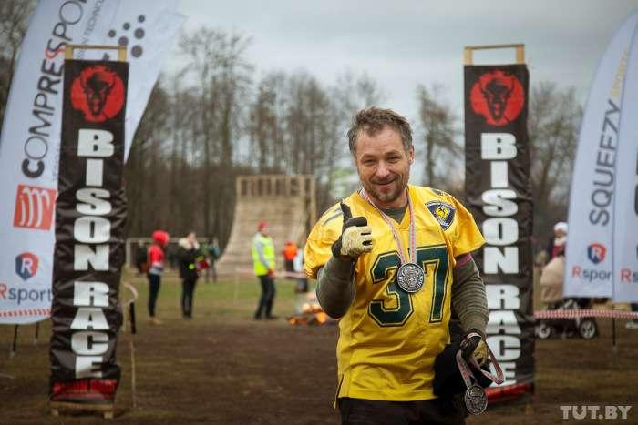 У Білорусі пройшов екстремальний забіг Bison Race («гонки бізонів») (23 фото)
