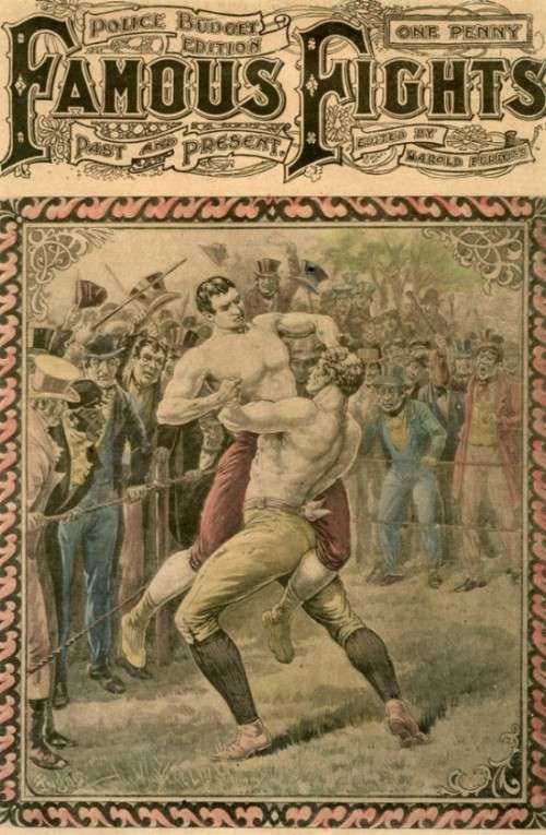 Кривавий бокс XIX століття (5 фото)