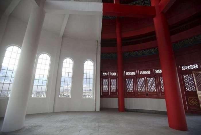 У Китаї зявилися обєднані в єдине будівля Капітолію і храм Неба (7 фото)