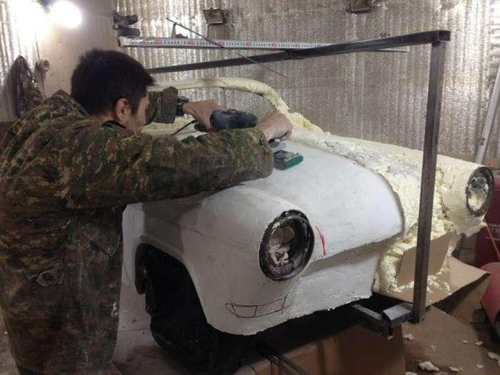 Мініатюрний родстер ГАЗ-21 (74 фото)