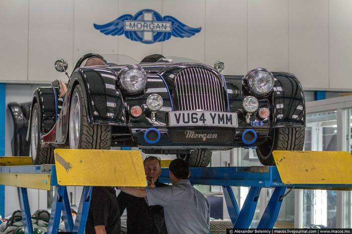Як збираються спортивні автомобілі марки Morgan (28 фото)