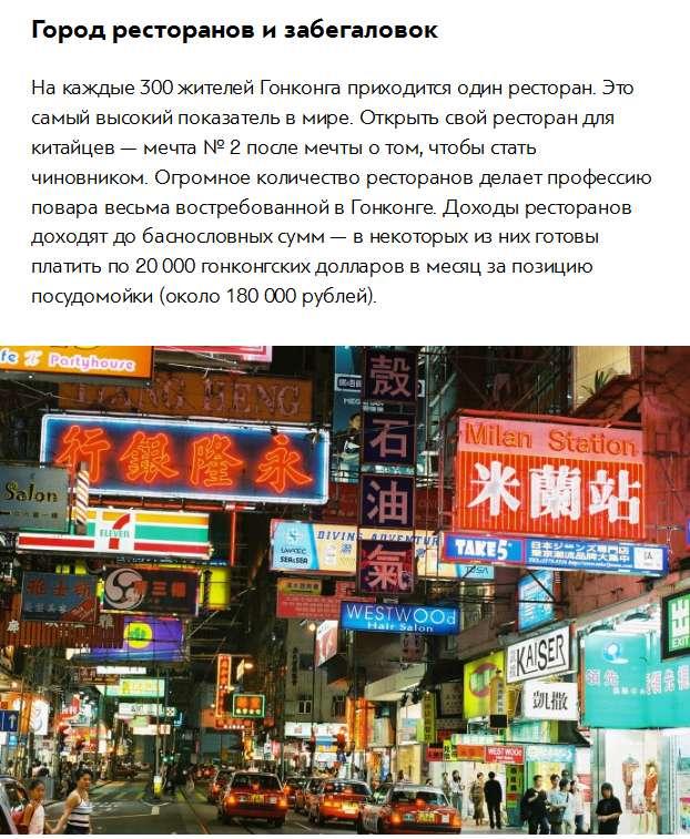 Цікаві факти про Гонконгу (7 фото)