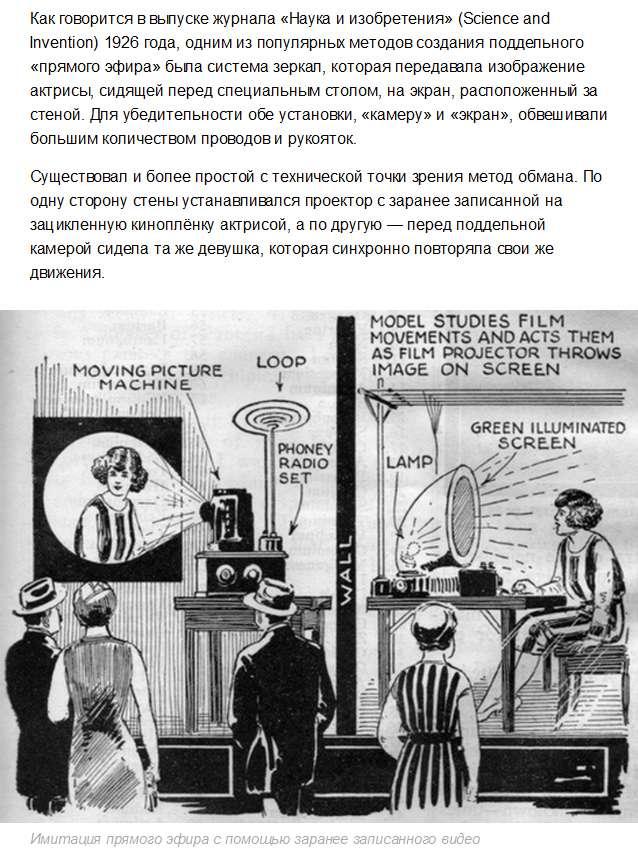 Залучення покупців у магазини за допомогою підроблених телевізорів на початку XX століття (3 фото)