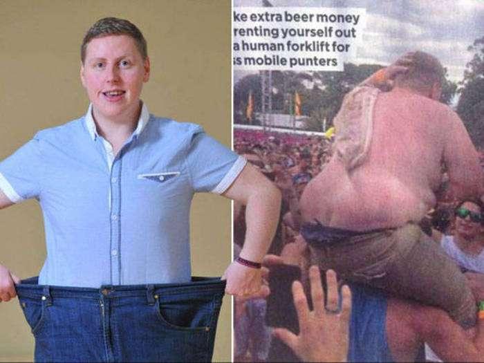 Повний хлопець вирішив сісти на дієту після того, як став інтернет-мемом (7 фото)