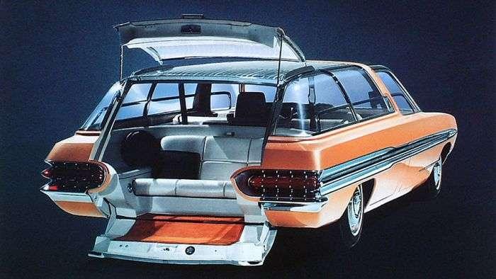Ford Aurora - унікальний концепт 1964 року, обладнаний першої навігаційною системою (3 фото)