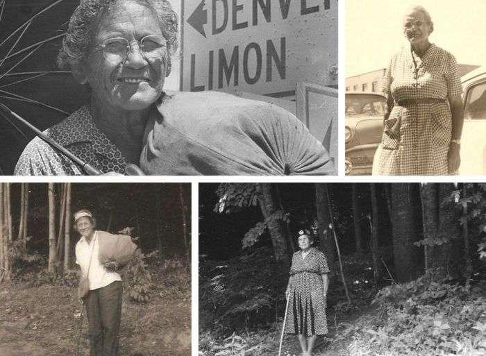 Емма Гейтвуд - найвідоміша піша туристка США (2 фото)