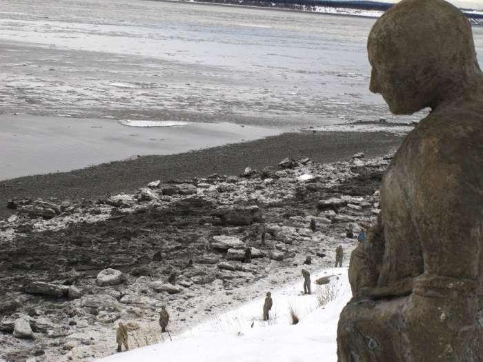 На Алясці встановлять скульптури, присвячені людям з психічними розладами (4 фото)