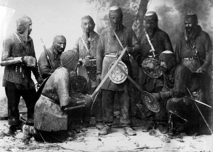 Хевсури - агресивні жителі гір (5 фото)