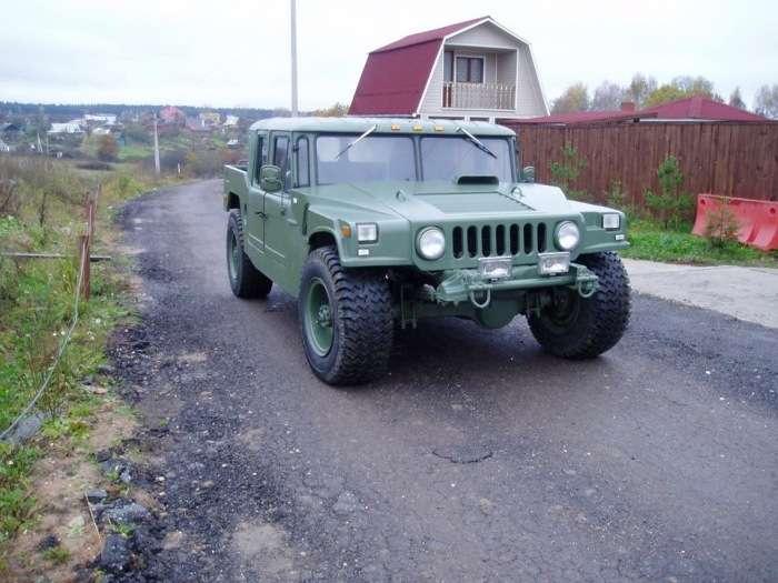 Саморобний Hummer H1 на базі ГАЗ-66 (10 фото)