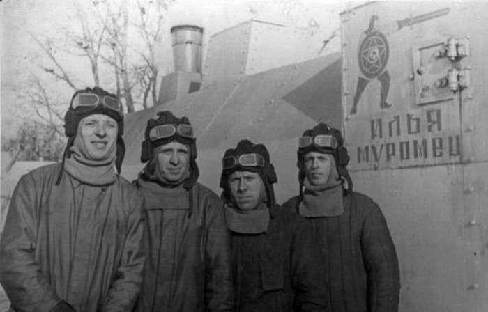 Бій бронепоїздів: «Ілля Муромець» проти «Адольфа Гітлера» (8 фото)