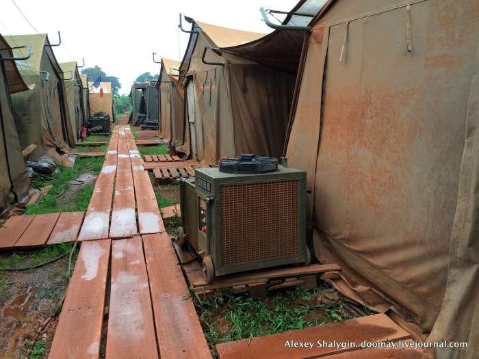 Побут військовослужбовців французького іноземного легіону в Африці (31 фото)