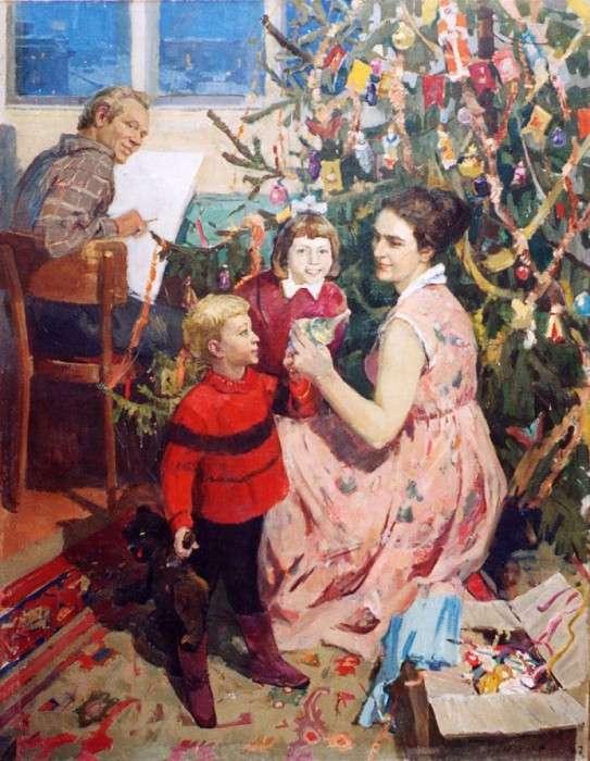 Новорічні картини, які допоможуть знайти святковий настрій (20 картин)