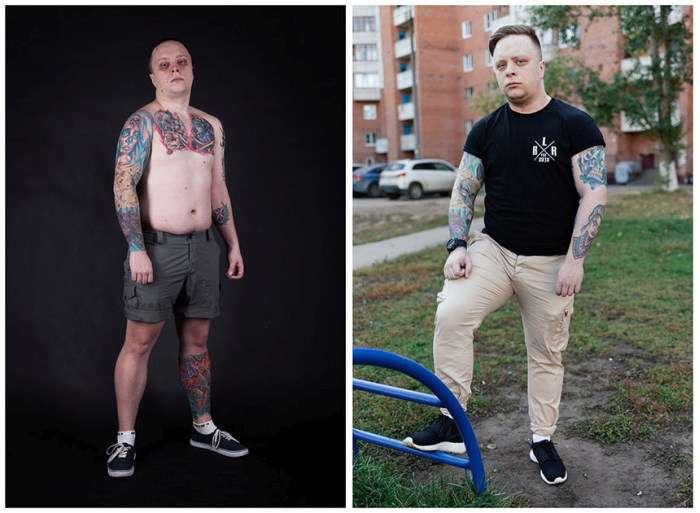 Російські фанати татуювань (14 фото)