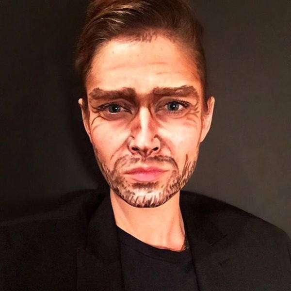 Професійний візажист перетворює себе в різних зірок за допомогою макіяжу (21 фото)