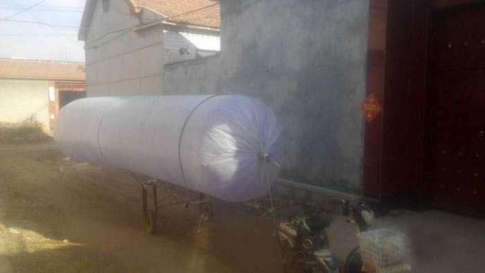 Китаянка знайшла спосіб вирішити проблему нестачі газу для побутових потреб (5 фото)