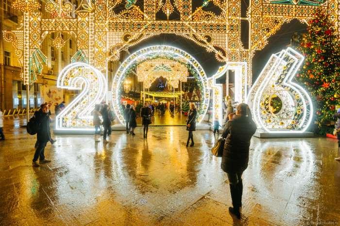 Святкова Москва (44 фото)