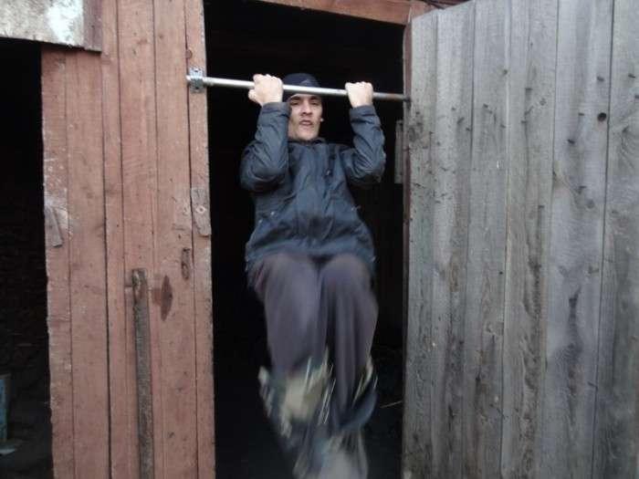 Один день з життя сильної людини (35 фото)