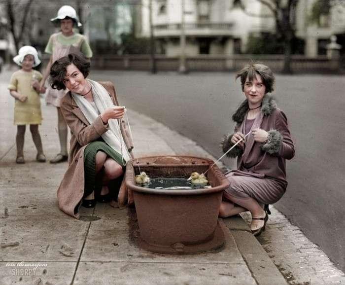 Колоризированные історичні знімки (41 фото)