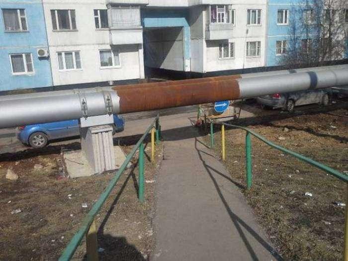 Фото, які можливо було зробити тільки в Росії. Частина 18 (45 фото)