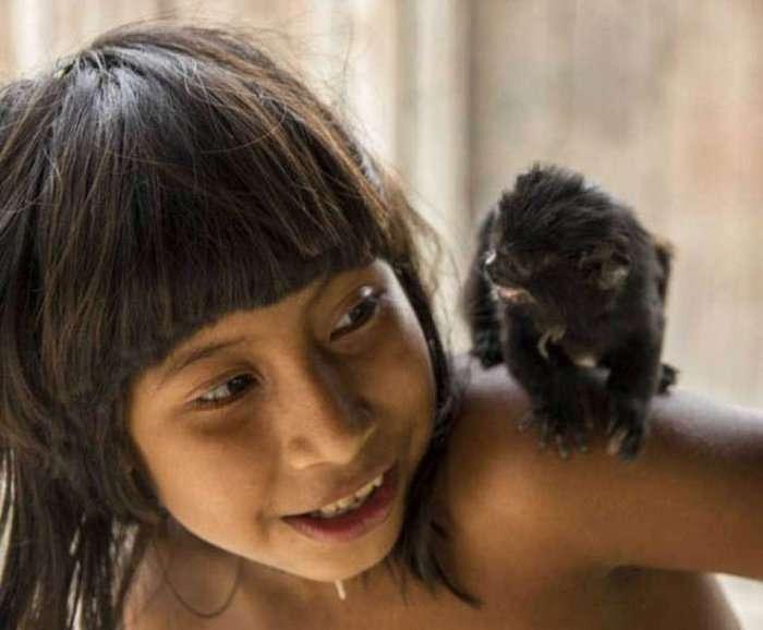 Життя зникає кочового племені Ава (15 фото)