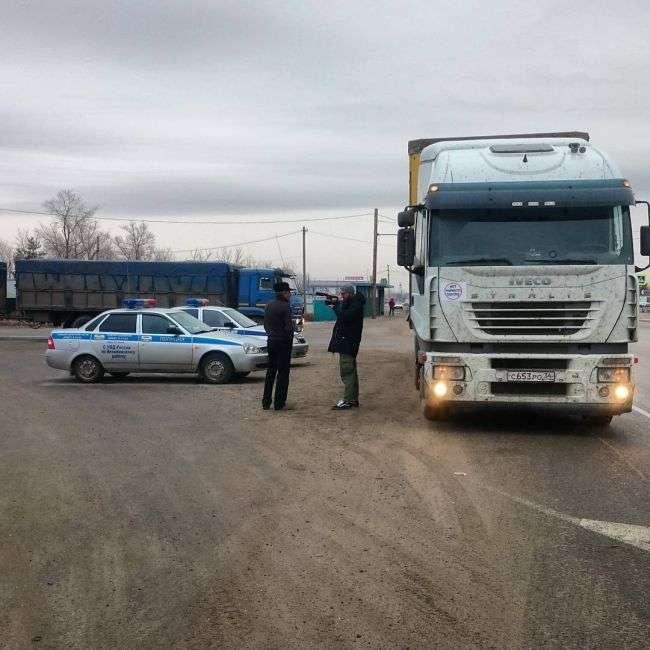 Далекобійники планують провести масштабну акцію протесту в Москві (7 фото)