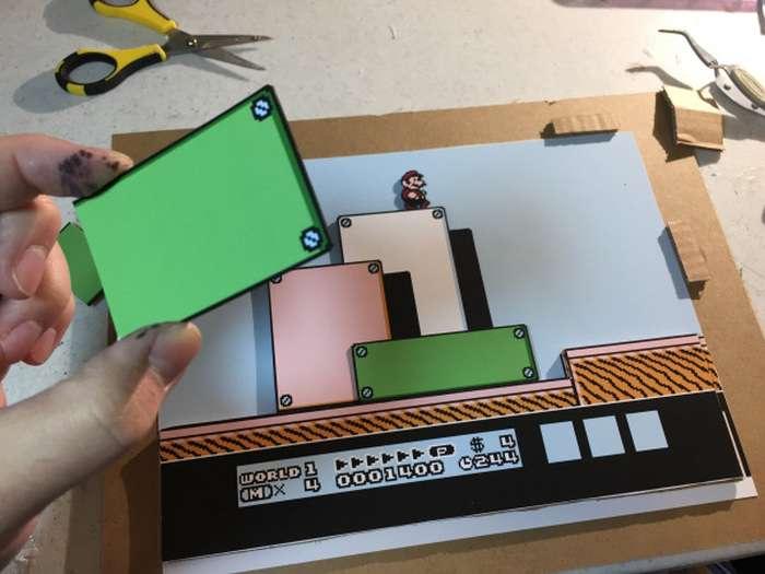 Художник перетворює фрагменти компютерних ігор в 3D-картини (18 фото)