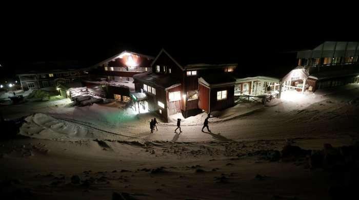 Життя сирійських біженців в Лапландії (18 фото)