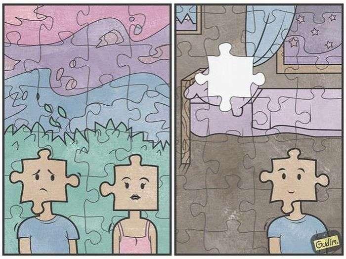 Сучасна реальність в саркастичних малюнках Антона Гудима (40 картинок)