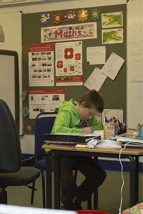 Арон Андерсон - самий самотній школяр Великобританії (13 фото)