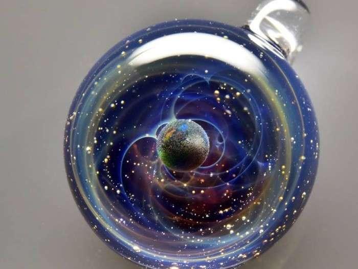 Всесвіт у скляних кульках Сатоши Томизу (10 фото + відео)