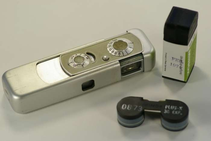 Мініатюрні фотоапарати, якими користувалися розвідники (34 фото)