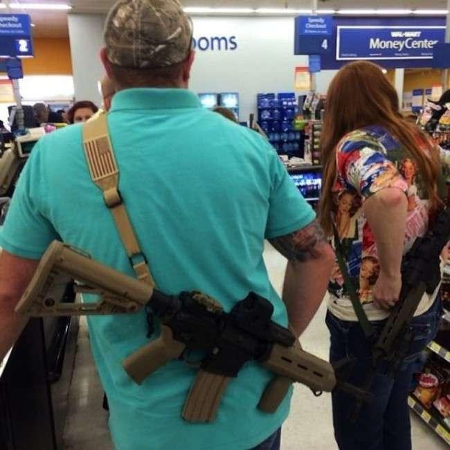 Техасцям дозволили відкрите носіння зброї (4 фото)