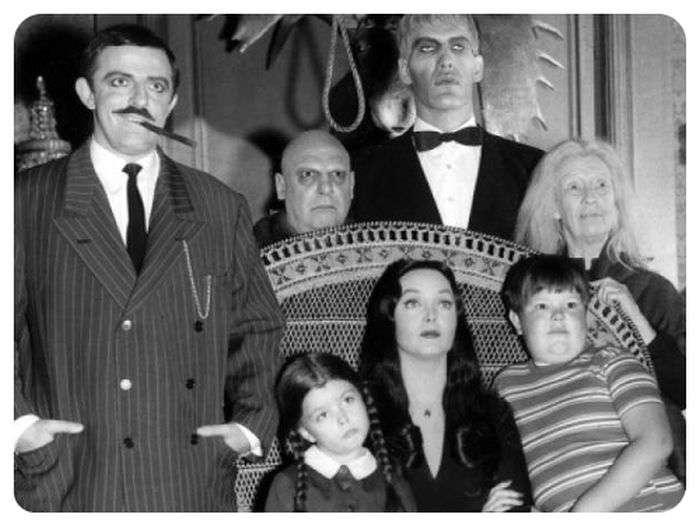 Цікаві факти про чорної комедії «Сімейка Аддамс» (9 фото)