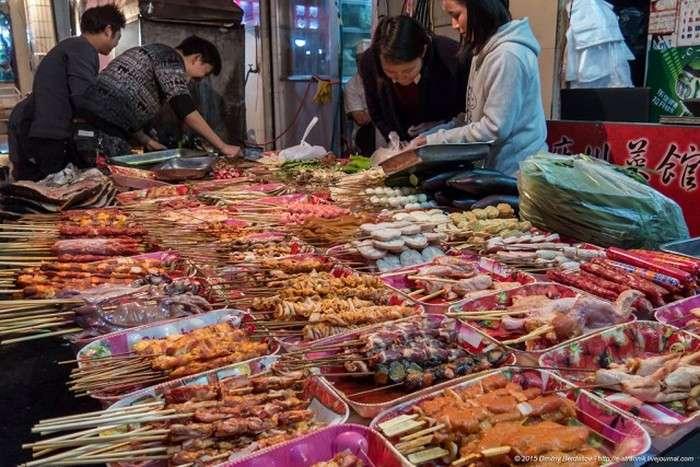 Вулична їжа Китаю (27 фото)