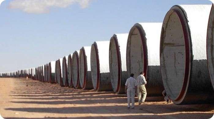Велика рукотворна річка Лівії (18 фото)