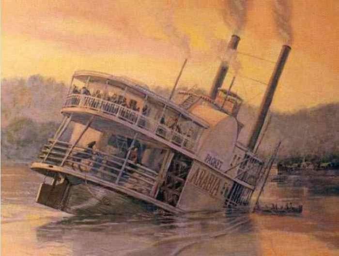 Вантаж та речі з американського пароплава, затонулого в середині XIX століття (11 фото)