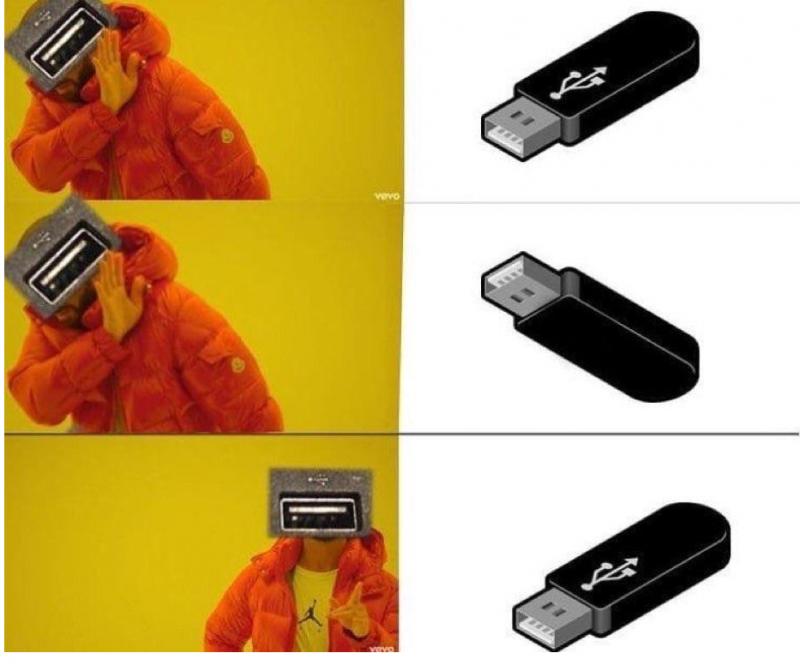 Создатель разъема USB объяснил, почему его так трудно вставить с первого раза   Интересное