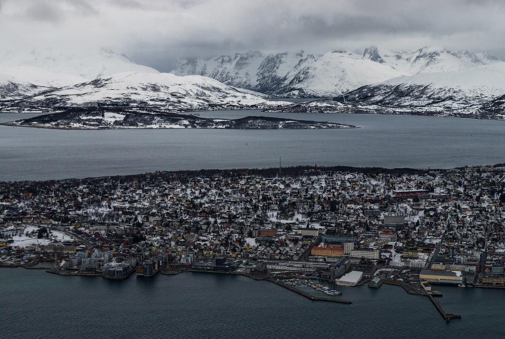 Путешествие по самому северному городу Норвегии Интересное