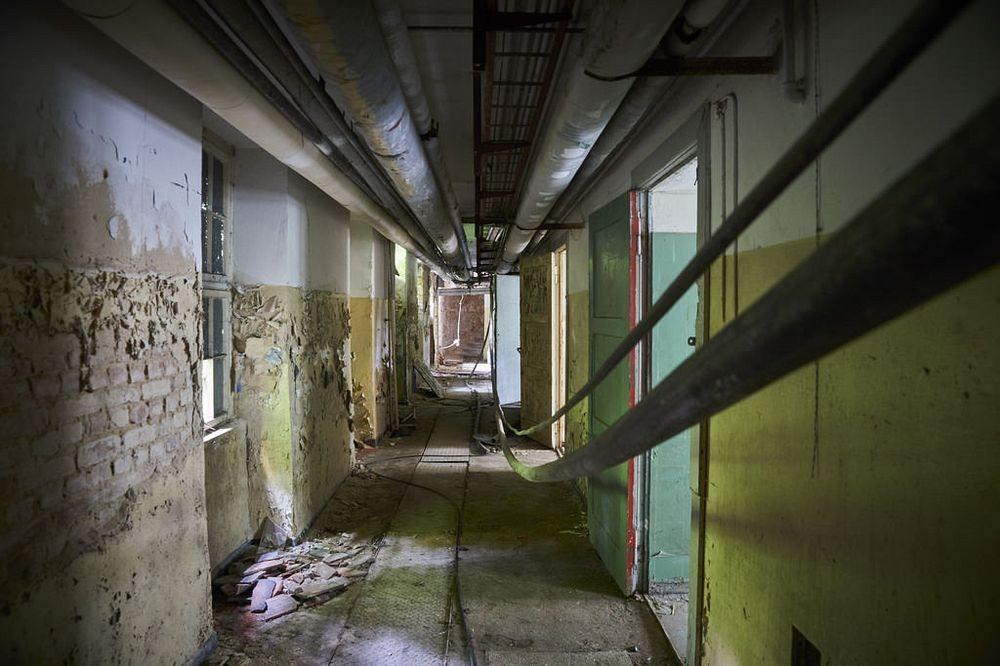 Заброшенный советский город-призрак в Германии заброшенное