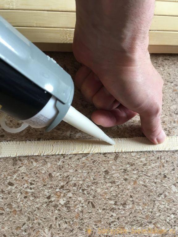 Как замаскировать недостатки настенного покрытия с помощью бамбуковых обоев Самоделки
