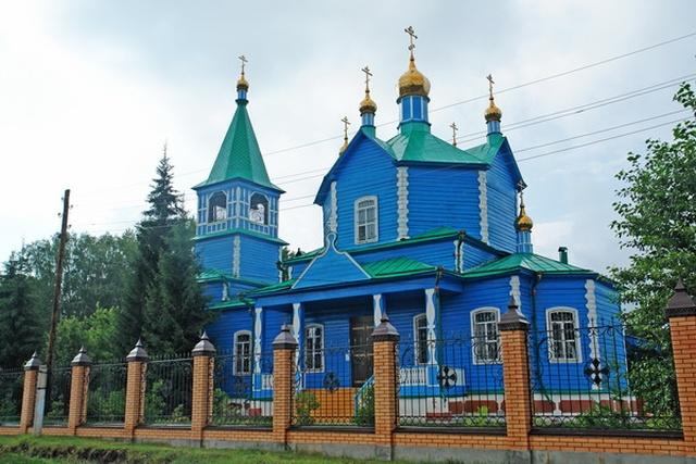 Сгорел Свято-Казанский Чимеевский мужской монастырь Интересное