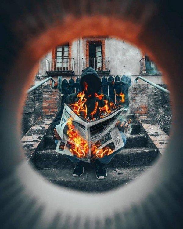 Трюки фотографов Всячина
