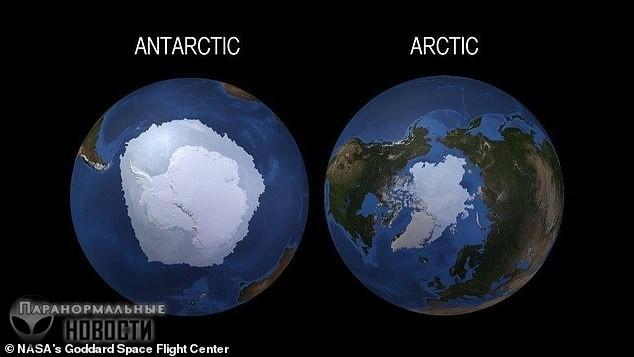 За три года Антарктида потеряла лед на площади размером с Мексику Тайны и мифы