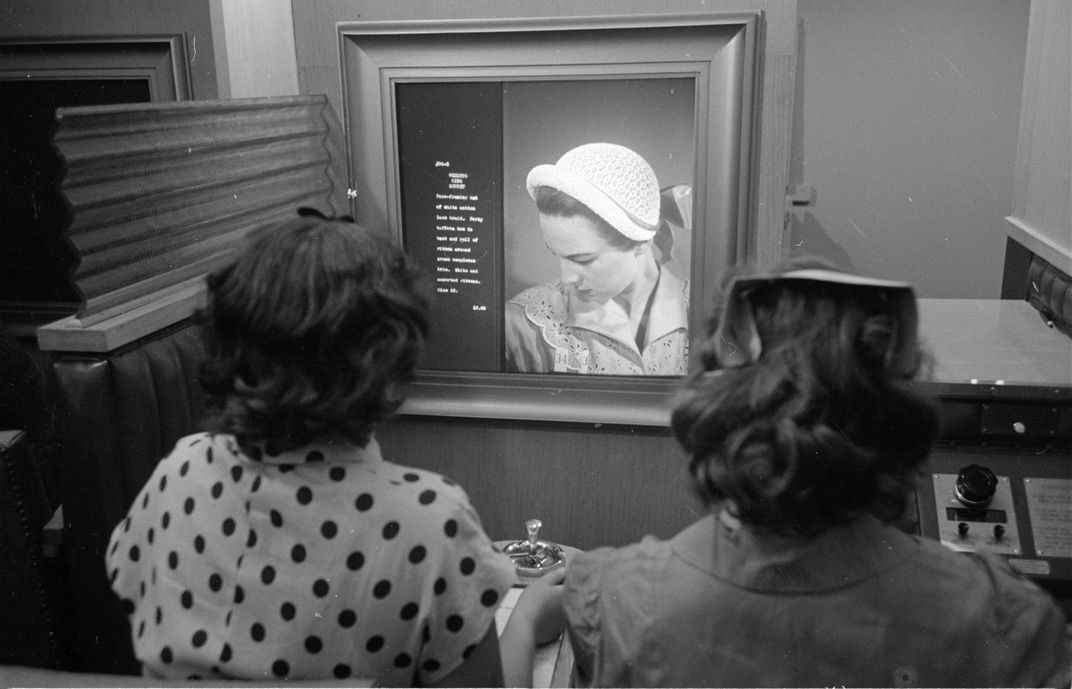 Vis-O-Matic – версия онлайн-магазина 1950-х годов Познавательное