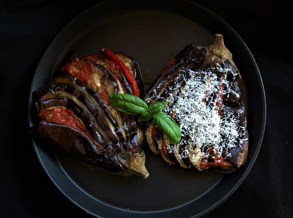 Сицилийские баклажаны- перепелки
