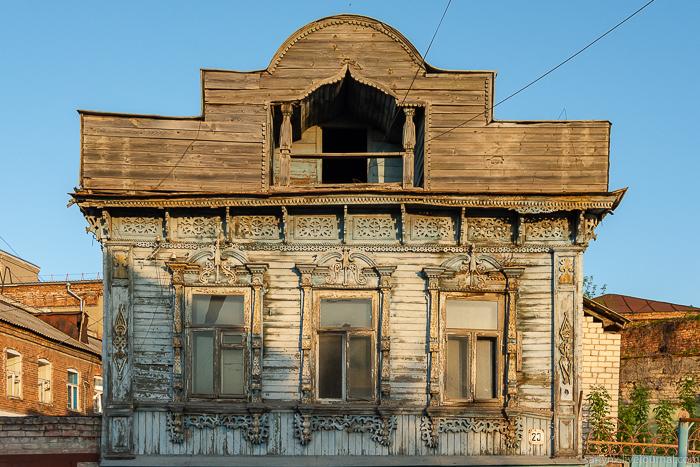 Деревянная Сызрань архитектура,Самарская область,наличники