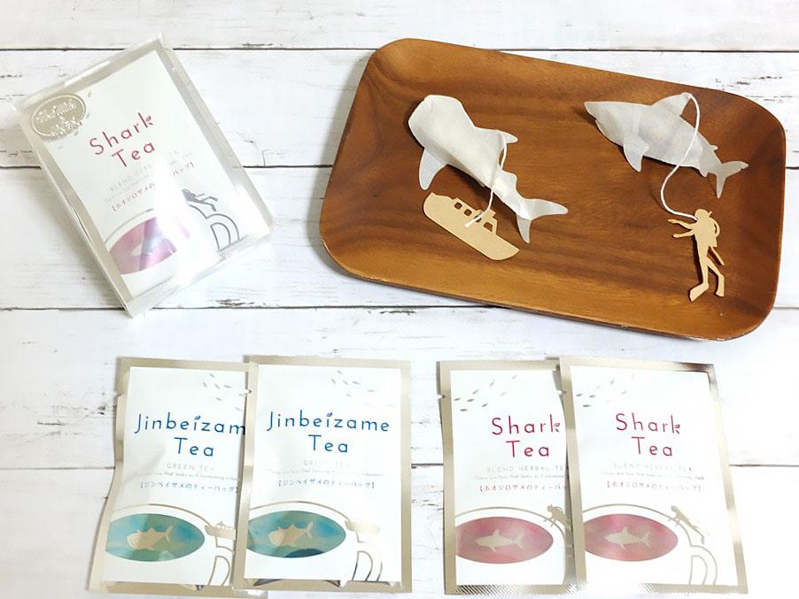 Морские обитатели в чашке с чаем любопытное